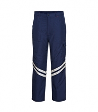 Quılted Trousers Wıth Cargo Pockets