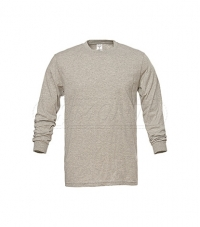 Long Sleeved T-Shirt Grey Melange