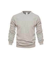 Men's Crew-neck Sweatshirt Gray Melange