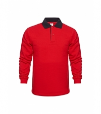 Polo Collar Sweatshirt For Men