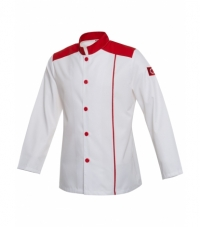 Cook Jacket Red with Embroidery