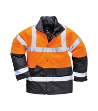 S467 - Hi-Vis Two Tone Traffic Jacket
