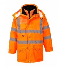 RT27 - Hi-Vis 7-in-1 Traffic Jacket RIS