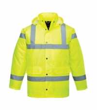 S460 - Hi-Vis Traffic Jacket Collection: 300D Industry High