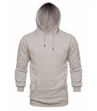 Sweatshirt Melange with Hood