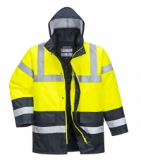 S466 - Hi-Vis Contrast Traffic Jacket