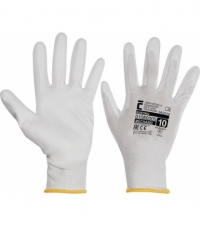 Cerva Bunting White Gloves