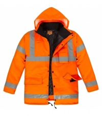 NORTHER HI-VIS Kaban - Neon Turuncu